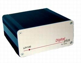 Lenz LZV100 Digital Plus für DCC Betrieb mit USB Schnittstelle.
